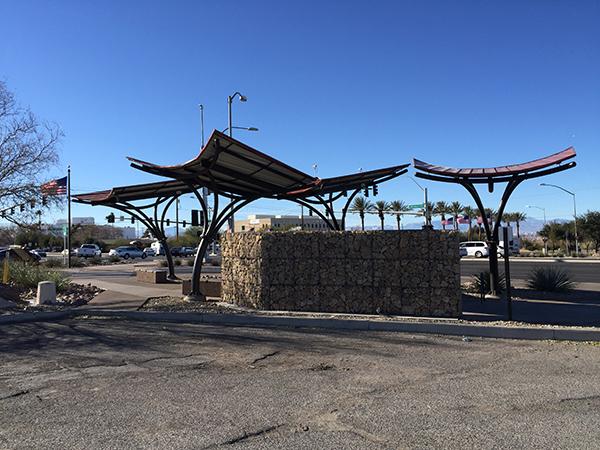 Henderson Nevada Jail parking lot